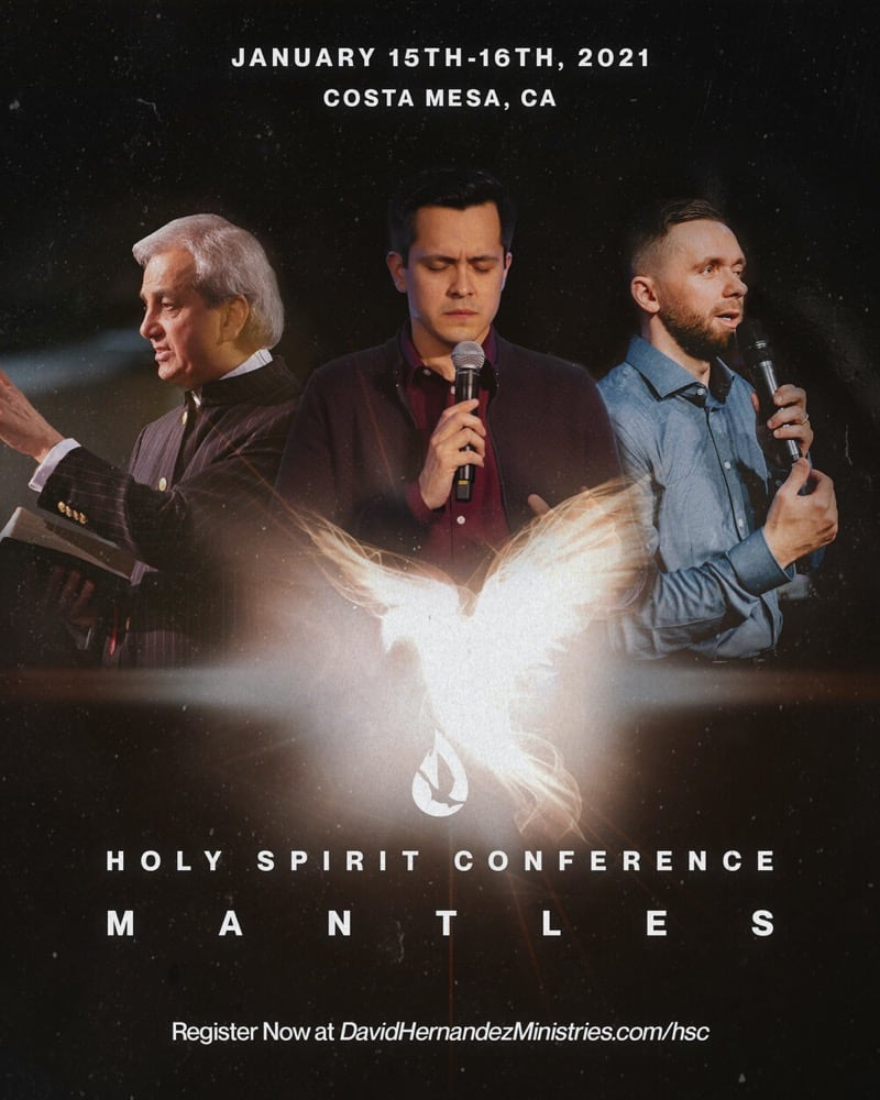 Holy Spirit Conference: Mantles